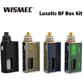 Wismec Luxotic BF Box Kit, Black Honeycomb by Wismec