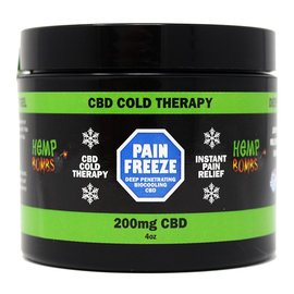 Hemp Bombs CBD Pain Freeze 4 oz by Hemp Bomb