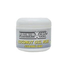Platinum CBD Coconut Oil Rub, 550MG by PlatinumXCBD  (/875)
