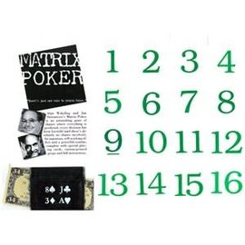 Fun inc. Matrix Poker By  Jim Steinmeyer and Alan Wakeling