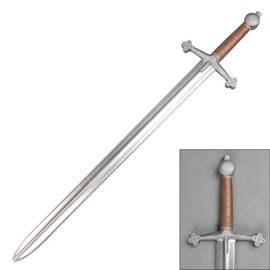China Sword Foam - Medieval Scottish Claymore Cosplay Chrome Blade