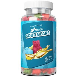 Medix Wellness CBD CBD Gummy Sour Bears 300mg by Medix