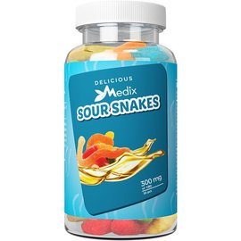 Medix Wellness CBD CBD Gummy Sour Snakes 300mg by Medix