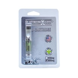 Platinum CBD Cartridge 450mg by PlatinumXCBD