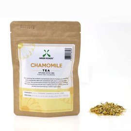 Green Roads World CBD Chamomile Tea 2 grams, 1 Day Tea by Green Roads World