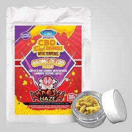 Experience CBD CBD Dab Crumble Amnesia Haze w/Terpenes 450mg 1G by Experience CBD