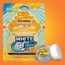 Experience CBD CBD Dab Crumble White Rhino w/Terpenes 450mg 1 Gm