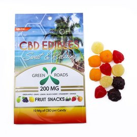 Green Roads World CBD Fruit Snacks 200mg by Green Roads World