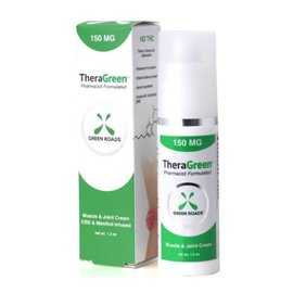 Green Roads World CBD TheraGreen Cream 150mg by Green Roads World