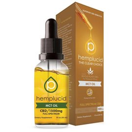 Hemplucid CBD MCT Oil Tincture 1500mg by Hemplucid