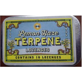 Auntie's Originals CBD Terpene Lozenges Lemon Haze by Auntie's Originals
