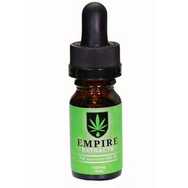 Empire Wellness CBD Oil Tincture Full Spectrum 1500mg 10ml by Empire Extracts