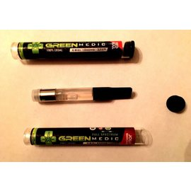 Green Medic CBD CBD Oil Cartridge 500mg Mixed Fruit by Green Medic CBD