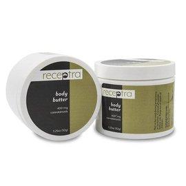 Receptra Naturals CBD Body Butter Cream 400mg 3.25oz by Receptra Naturals