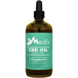 Medix Wellness CBD CBD Oil Tincture 4500mg 120ml by Medix CBD