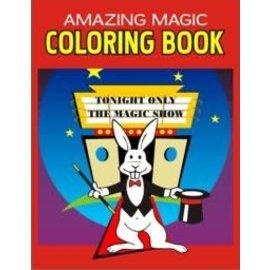 Trickmaster Magic Amazing Magic Coloring Book