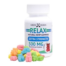 Green Roads World CBD Relax Gummies 300mg by Green Roads World