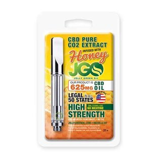 JGO CBD Oil Cartridge Honey 625mg CBD 1ml by JGO