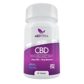 Medterra CBD CBD MedOil Sleeping Tablets 30 Count 25mg by Medterra CBD