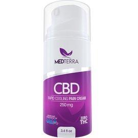 Medterra CBD CBD Rapid Cooling Pain Cream 250mg by Medterra CBD
