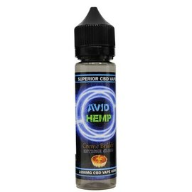 Avid Hemp CBD CBD E-liquid Creme Brulee 1000mg 60ml by Avid Hemp