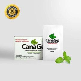 CanaGel CBD Hemp Oil Gel Melts Single By CanaGel