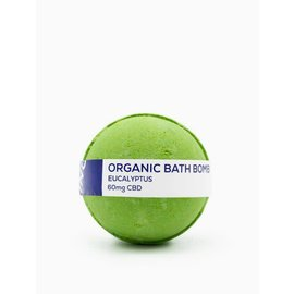 Water For Living CBD Eucalyptus Bath Bomb 60mg by Water for Living