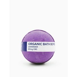Water For Living CBD Lavender Bath Bomb 60mg by Water for Living