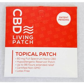 Water For Living CBD Topical Patch 60mg by Water For Living