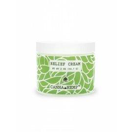 Canna Hemp CBD Relief Cream 2oz by Canna Hemp