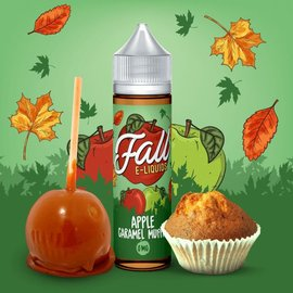 Vibleo Apple Caramel Muffin 0mg 60ml by Fall E-Liquids