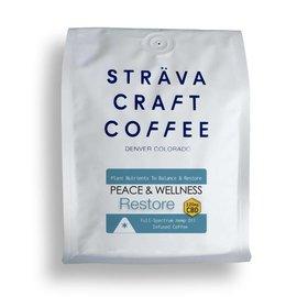 Strava Craft Coffee CBD Coffee - Restore 120mg 12oz by Strava Craft Coffee