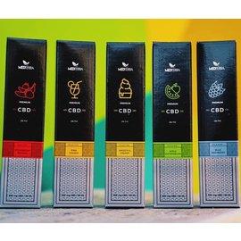 Medterra CBD CBD E-liquid Strawberry Banana 500mg 60 ml by Medterra CBD