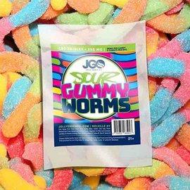 JGO CBD 5pk Sour Gummy Worms 250mg  by JGO CBD