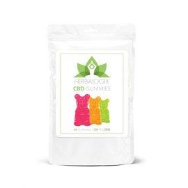 Herbalogix CBD Gummies 100mg 10ct by Herbalogix