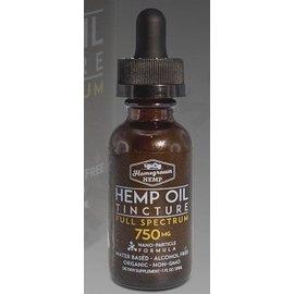 Homegrown Hemp CBD Oil Tincture 750mg Full Spectrum by Homegrown Hemp