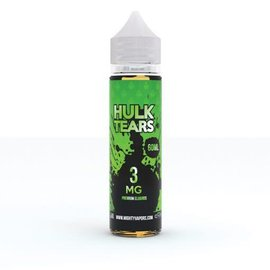 Mighty Vapors Hulk Tears 3mg 60ml by Mighty Vapors
