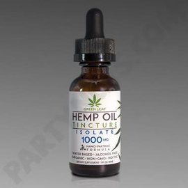 Green Leaf CBD Oil Tincture 1000mg Isolate by Green Leaf