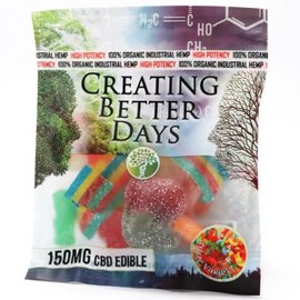 Creating Better Days CBD Sour Gummies Variety Pack 150mg by Creating Better Days