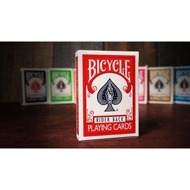 United States Playing Card Company Bicycle Playing Cards Poker, Red - Classic Box