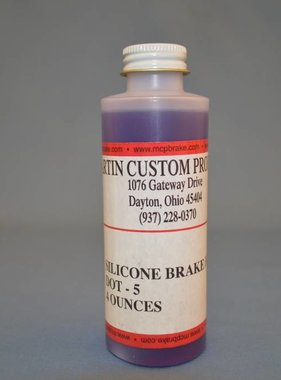 MCP Brakes Silicone Brake Fluid 4OZ (MCP)