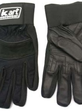Kart Adult X-Small Premium Gloves (Black)