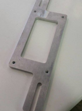 EFR TWH Quick Motor Plate (Top Plate Only w/hardware)