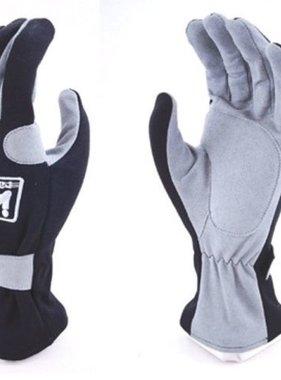 Kart Adult Large Racewear 200 Series Gloves (Black & Gray)