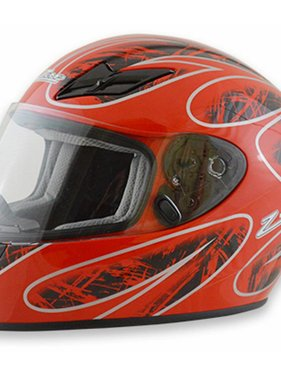 Zamp Zamp FS-8 Medium Red and Black Helmet