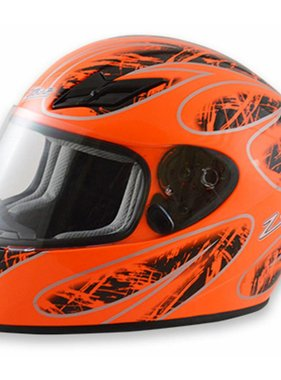 Zamp Zamp FS-8 Large Orange and Black Helmet