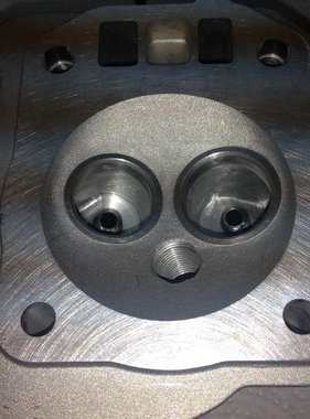 Mars Blueprinted Hemi Head For Pro Mod Assembeled
