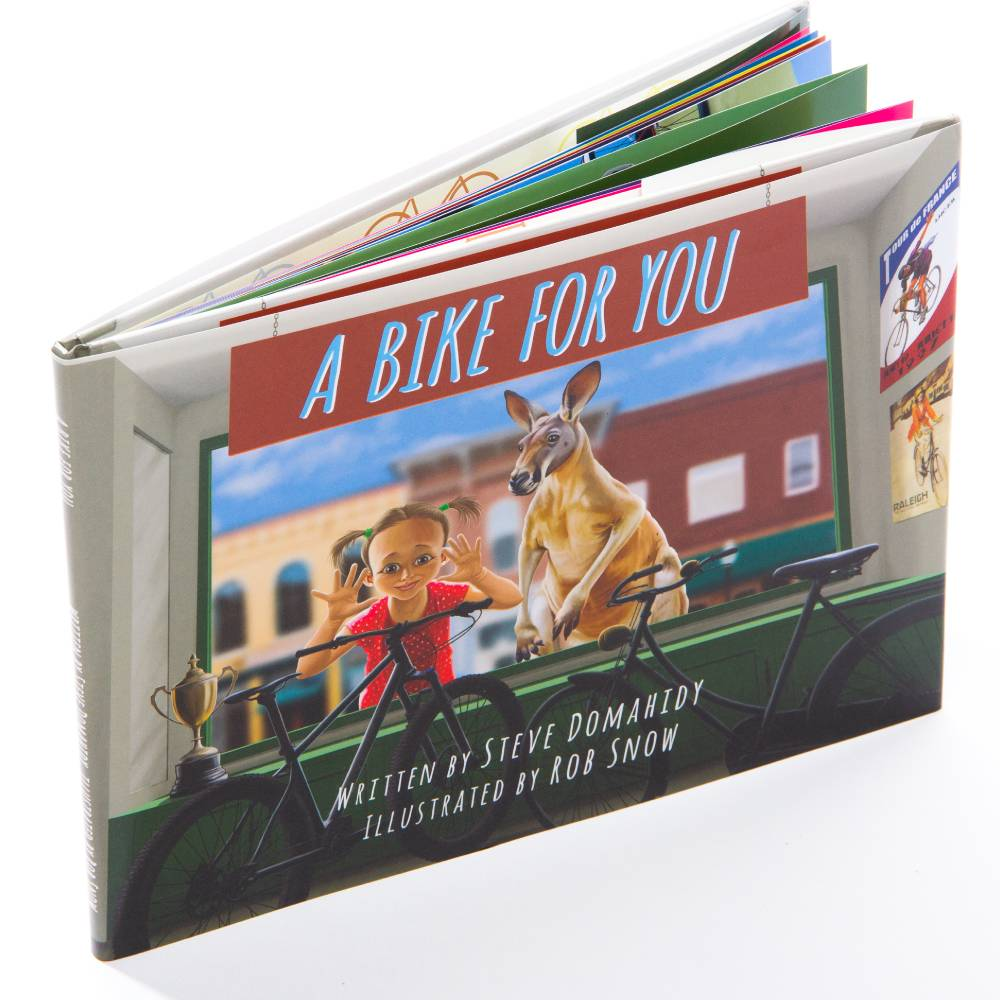'A Bike For You' Hardback