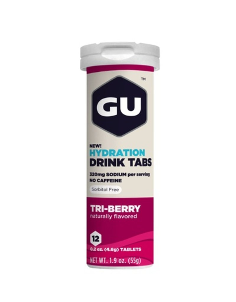 GU Energy Labs GU Hydration Drink Tabs Tri-Berry (Tube)