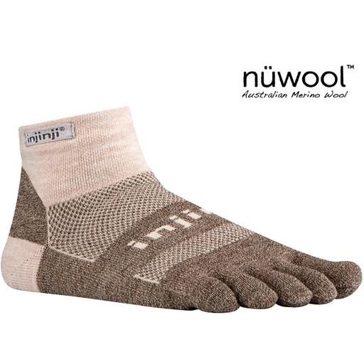 Injinji Footwear, Inc. Injinji Outdoor Midweight Mini-Crew - NuWool